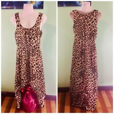 Forever 21 Womens Leopard Dress Size Small