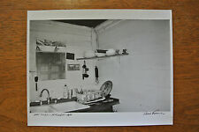Original SIGNED Robert Frank glossy black & white photograph