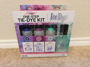 New Tulip One-Step Ice Dye 29 piece Tie-Dye Kit