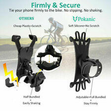 Durable Bicycle Motorcycle MTB Bike Handlebar Silicone Mount Holder for Phone