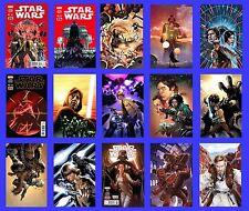 STAR WARS #1 C 2 C 3 4 5 6 7 8 9 10 11 12 13 14 15 SET 2015 NEW MARVEL NOW MOVIE