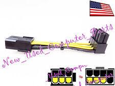 "➨➨➨ Zotac 8/"" Ultra Low 90 Degree 8-Pin PCI-E GPU Power Supply Cable ➨➨➨ 3mm"
