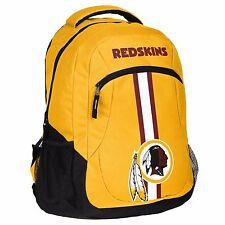 Washington Redskins Logo Action BackPack School Bag Back pack Gym Travel Book