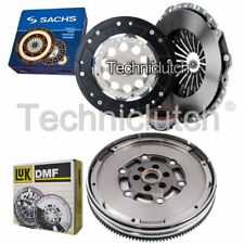 SACHS 3 PART CLUTCH KIT AND LUK DMF FOR AUDI A6 BERLINA 2.0