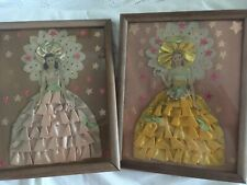Vintage Paper Doll Lace Pictures