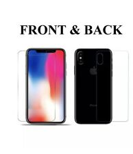 Front And Back Tempered Glass 360 Screen Protector For Apple iPhone X 10 Phone