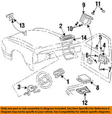 Cadillac GM OEM DeVille Supplemental Restraint System-Control Module 25732983