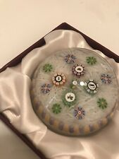 1983 Perthshire Paperweight Scattered PP11 Colorful Canes