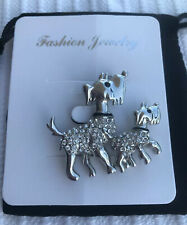 scottie dog pin - New - Gift bagged