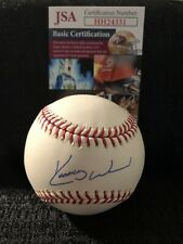 Kerry Wood Signed Autographed Chicago Cubs Yankees Indians MLB Baseball JSA