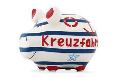 KCG Sparschwein KREUZFAHRT, Urlaub Urlaubskasse Reisekasse Schiffsreise Geschenk