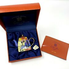 New listing Charlotte Di Vita Rosina Wachtmeister Handpainted Numbered Copper Enamel Tea Pot