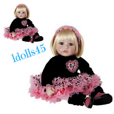 "Adora 20""Ready To Rock Toddler Doll Blonde hair Blue eyes vinyl/cloth 6+"
