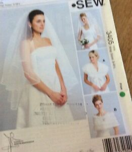 Kwik Sew Veils And Wraps Dressmaking Pattern