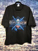 VTG Lee Sport Tampa Bay Buccaneers XXVII Super Bowl Champs tshirt size Xlarge