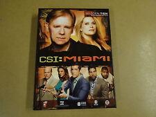 3-DISC DVD BOX / CSI : MIAMI - SEIZOEN 10 - AFLEVERINGEN 10.11 - 10.19