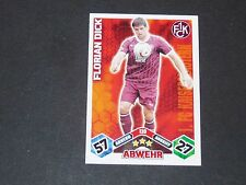 DICK 1.FCK KAISERSLAUTERN TOPPS ATTAX PANINI FOOTBALL BUNDESLIGA 2010-2011