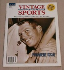 Beckett Vintage Sports Guide Volume 1 Premiere Issue 1996 - Mickey Mantle Cover