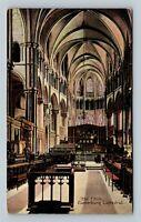 The Choir, Canterbury Cathedral, England Vintage Postcard