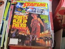 Starlog Magazine vintage issue 181 Honey I Blew Up the Kids
