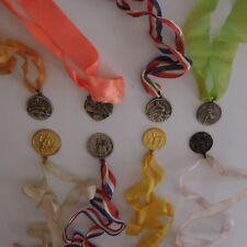 N2747 8 médailles athlétisme cross-country Meurthe et Moselle 1977 XXe PN France