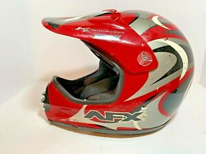 Vintage Youth AFX Roost FX-6R Motocross Helmet Size Youth Medium YM