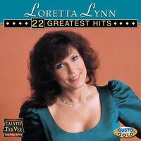 Loretta Lynn - 22 Greatest Hits [New CD]