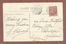 Pierrefonds France,1905 Irene Bradford  Halsey Villa Bawtree Rd Uxbridge   AH188