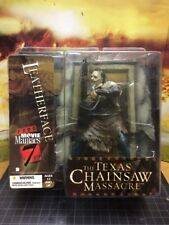 McFarlane Toys Movie Maniacs Series 7 Chainsaw Leatherface Action Figure  New .