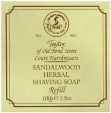 Taylor of Old Bond Street Shaving Soap Sandalwood Herbal Refill 100g/3.5oz