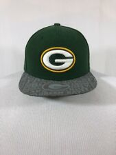 "Green Bay Packers NFL New Era 59Fifty  Yellow/Green 6 5/8 "" Baseball Hat Cap"