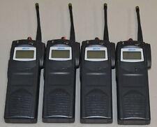 Lot 4 Ma Com P7100 Ip Maht E81nx Portable Two Way Radio With Antenna