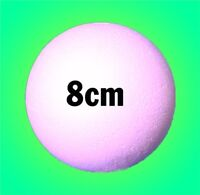 80mm 8cm Solid Polystyrene Balls Craft Sweet Tree Christmas Party Decoration