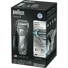 NEW Gift Men Son Gmp Braun Series 7 790cc Rechargeable Electric Shaver Silver