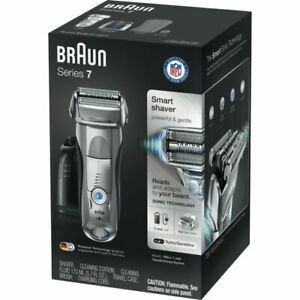 """Braun Series 7 790cc-7 Rechargeable Electric Razor W/Trimmer Wet/Dry """"Mint"""""""