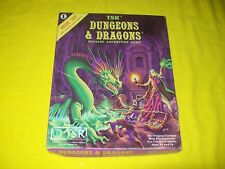BASIC RULES BOX SET 1 DUNGEONS & DRAGONS TSR 1011 - 1 WITH DICE & CRAYON