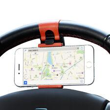 Universal Car Steering Wheel Phone Socket Holder Navigate Case Cover For iPhone