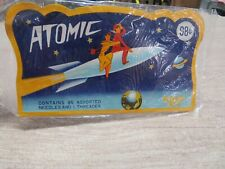Vintage Atomic Needle Book Unopened, Sealed Sewing 85 Needles Colored Book S381