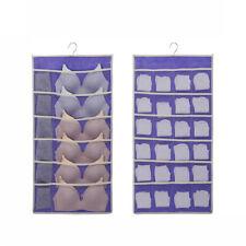 36 Pockets Closet Hanging Bag Socks Bra Underwear Rack Hanger Storage Organizer