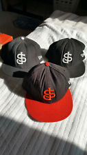 lot of 2 men's SJ new era 59fifty fitted baseball caps hats