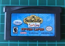 The Suite Life Of Zack And Cody - Gameboy Advance - Nintendo