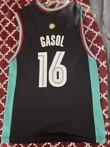 Pau Gasol Memphis Grizzlies Jersey Reebok Sz M