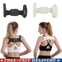 Men Women Back Posture Correction Shoulder Corrector Support Brace Belt Spine US