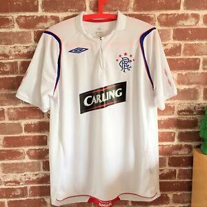 Umbro White Glasgow Rangers  Fc  1/4 Zip Top