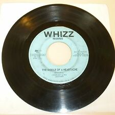 BLUE EYED SOUL 45 RPM RECORD - CHARLEY & JAGUARS (CHARLIE DANIELS) - WHIZZ 001