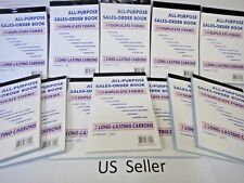 Lot of 100 Sales Order Book Receipt 50 Duplicate Forms Carbonless NEW US Seller