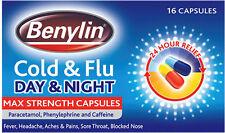 Benylin Cold & Flu Day & Night Max Strength Capsules (16)