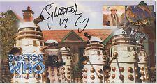 Dr Who Imperial Daleks Ltd edition cover signed Sylvester McCoy.