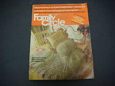Family Circle Magazine October 1973 Fatique Landscaping Mini-Vacations  M1722