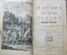 Extremely Rare & Early Edition Don Quixote Cervantes HC 1687 London Illustrated